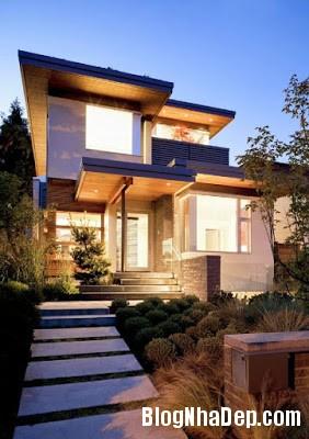 Fresh and Green House Design West 21st House in Vancouver by Ngôi nhà xanh thanh thiện môi trường ở Vancouver