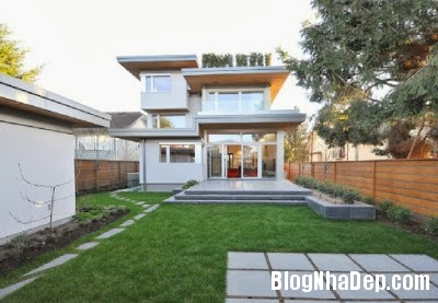 Landscape Design Ideas at West 21st House in Vancouver by Fr Ngôi nhà xanh thanh thiện môi trường ở Vancouver