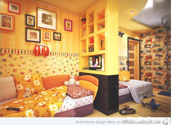 a2d086db4a816748ddd55dda455ee3f8 Phòng ngủ nổi bật với gam màu vàng