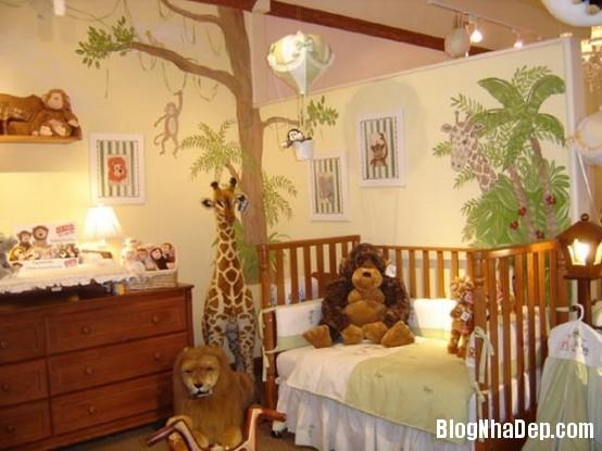 a66397c27c8e94eac44421f47fc9a48b Những kiểu phòng cho các bé thích mê