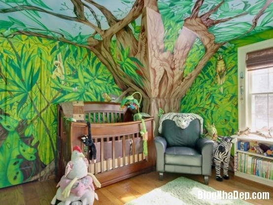 b3d8e2d3cbef0529f400e528a12a2762 Những kiểu phòng cho các bé thích mê