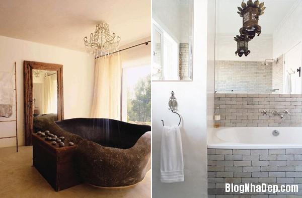 6484105cbe15fd56551f224533c6ceec Những phòng tắm được ốp đá xinh đẹp
