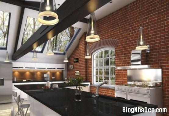 7c4fa017752084c6849ca4a98ac74fb1 Thiết kế nhà bếp nhỏ gọn lấy ý tưởng mùa thu