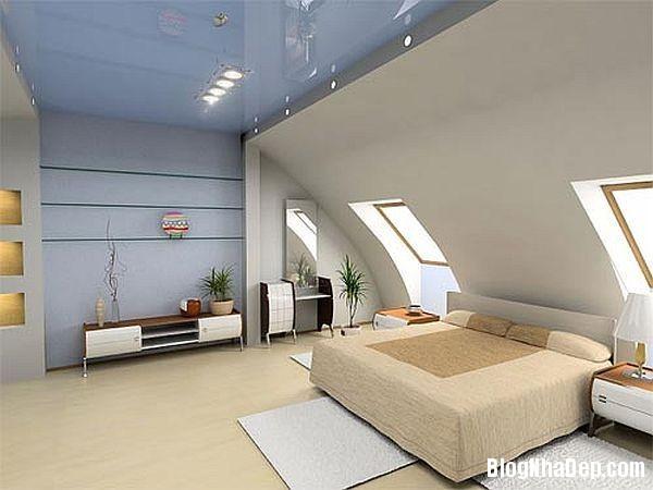 2ef50079a4596f987c2922ed5b88a04c Thiết kế phòng ngủ trên tầng áp mái