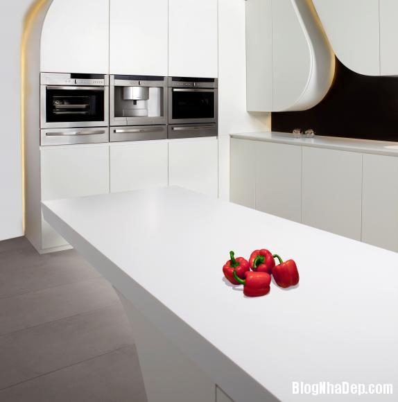 5df20a59592eaa69d4efb9056bd93fa7 Wave kitchen : Căn bếp hiện đại với toàn màu trắng