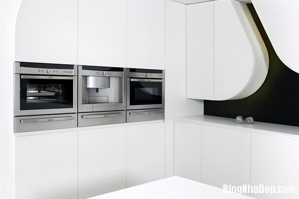 b36d732985773f667910c33680ef969b Wave kitchen : Căn bếp hiện đại với toàn màu trắng