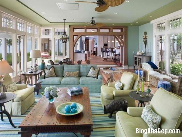 345ec3e8d45918b71185f4bfdeddf8af Phòng khách mát mẻ theo phong cách nhiệt đới