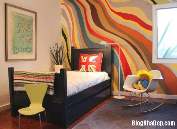 602f93eb233f713597a2eb22df49b8e2 Cách sơn màu cực cool cho phòng chàng