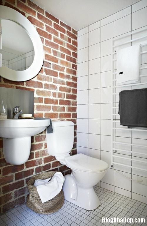 737d25744d5b18dcc2aaf40305c83d47 Nhà tắm đẹp mộc mạc với tường gạch