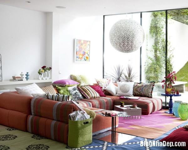 2ae2d2bd441076b327c465693ff24c7d Phòng khách cổ kính với phong cách Ma   rốc