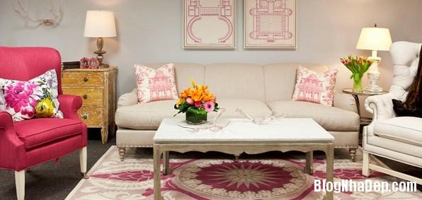 3adeadc75c11f000192956fab3dc965b Cách trang trí ngọt ngào, dễ thương cho phòng khách màu hồng