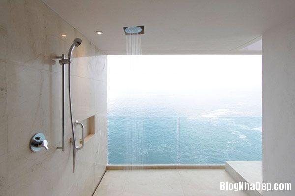 3f33784d2afdb5dfca76143d2845d60e Phòng tắm mở xinh đẹp giúp xả stress