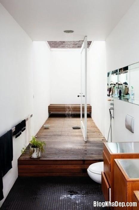 45004238bd71358ac75dffa11f6fae2e Phòng tắm mở xinh đẹp giúp xả stress