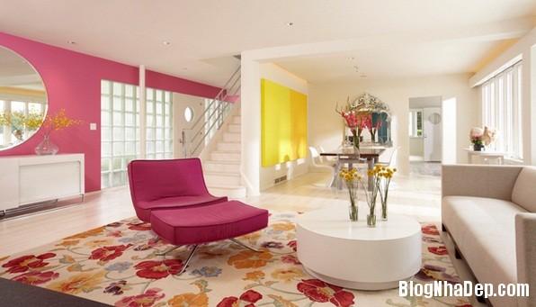 68177b7ce8a8249050c9471e2942da5d Cách trang trí ngọt ngào, dễ thương cho phòng khách màu hồng