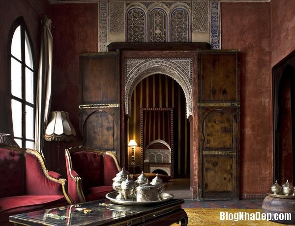 86367d755be2bce27808982d54c536c7 Phòng khách cổ kính với phong cách Ma   rốc