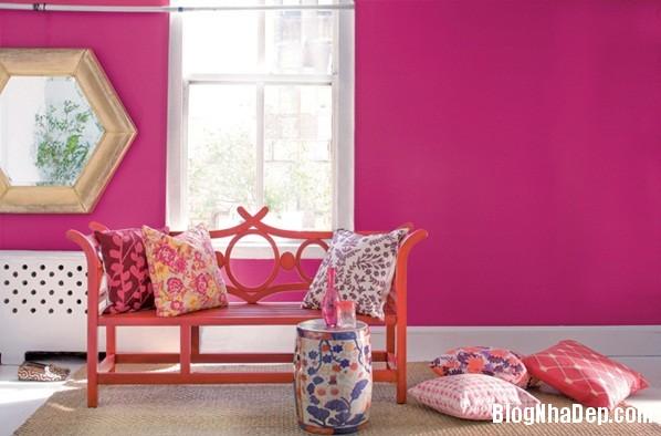 8fc993e59df85ef7c166fad51b60d0d0 Cách trang trí ngọt ngào, dễ thương cho phòng khách màu hồng