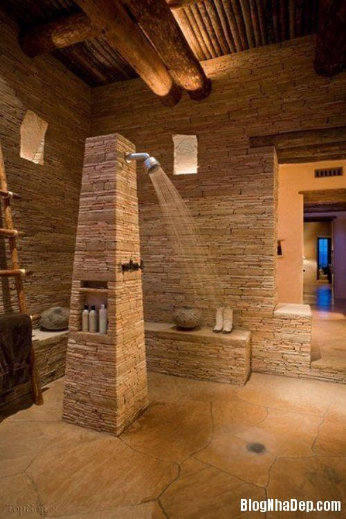 bc4c2e3e4e413160ea93ef27f9a63405 Phòng tắm mở xinh đẹp giúp xả stress