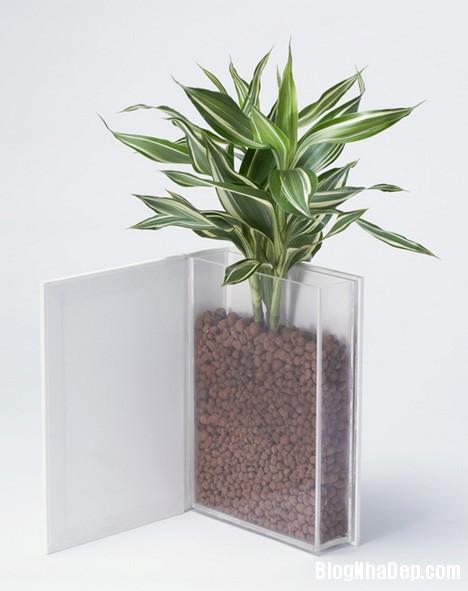 """ced355c4b444eb83ab63a8dfdb777e16 Thiết kế chậu cây """"sách"""" độc đáo của YOY Design Studio"""