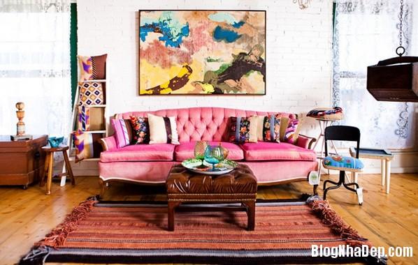 eb57157e77fb73e11426019f3dd6908a Cách trang trí ngọt ngào, dễ thương cho phòng khách màu hồng