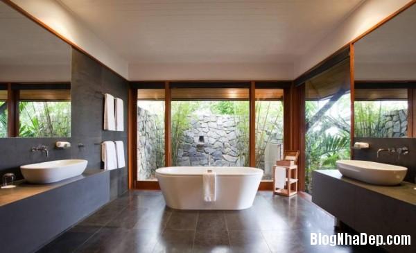 192eef569daa853c206a2f19591c9d52 Phòng tắm hiện đại giữa thiên nhiên trong lành