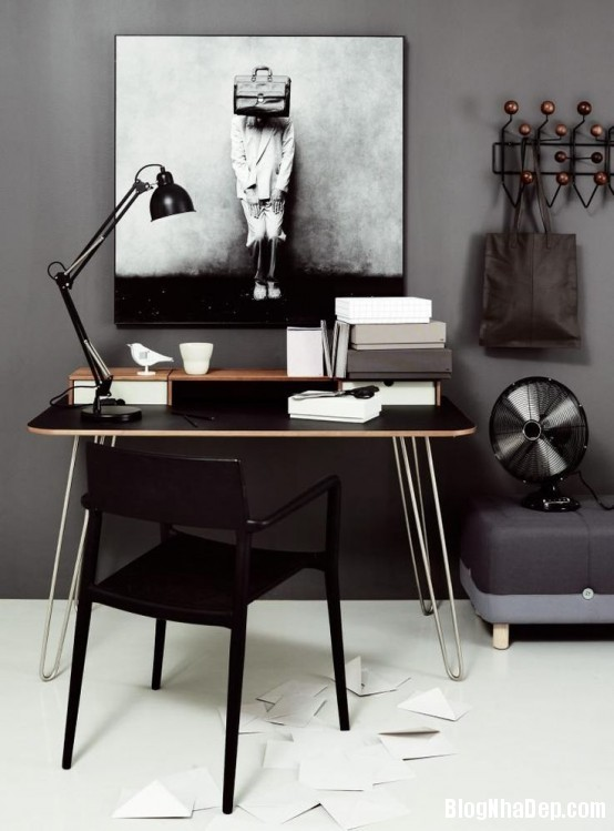 433c73341864a4798a2d7b23b17095d6 Trang trí phòng làm việc tinh tế theo phong cách Scandinavia
