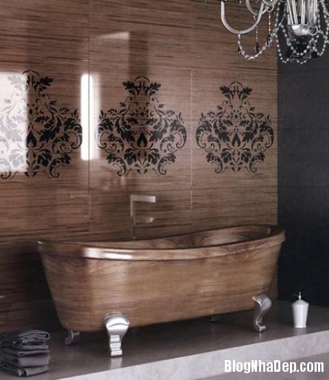 55faa21b801cc9531cbedceb57458b98 Ấm cúng với phòng tắm làm từ gỗ