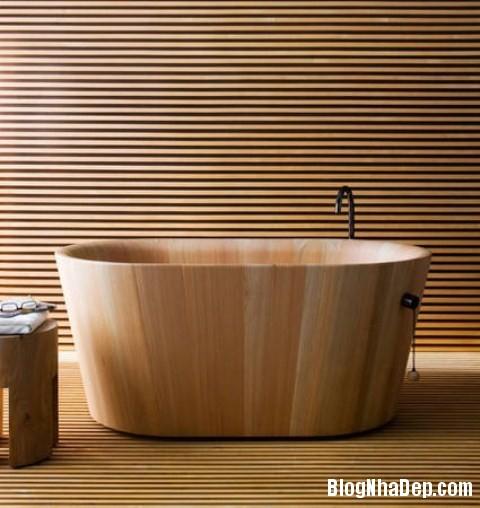 69134ec41d4dc5eadf84b647fa9015f1 Ấm cúng với phòng tắm làm từ gỗ