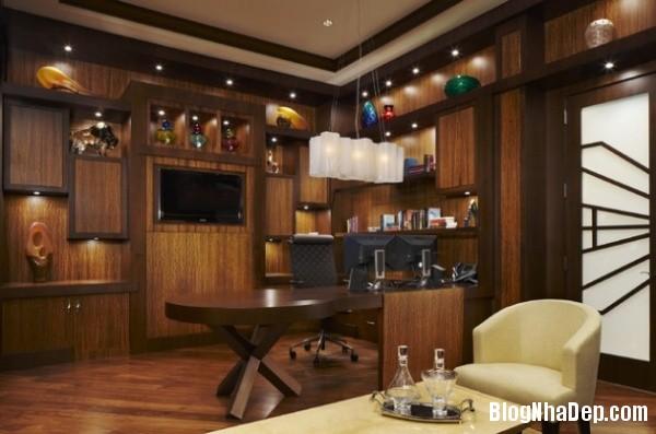 9e83ed2a62b5dae919fc90ef930c4d94 Phòng làm việc nam tính mang phong cách masculine