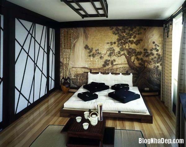 e5bfe3e3a0d3ebe749063ddfe727f7b0 Phòng ngủ  yên tĩnh theo phong cách Á Đông
