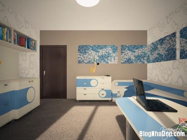 092bf683d2e81d49be9d7d5093408183 Những mẫu phòng riêng xinh tươi cho bé