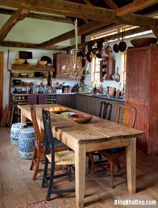 1ab231f43f47c1579fe868f733bb1ba4 Phòng bếp ấm cúng và thân mật được xây từ nhà kho
