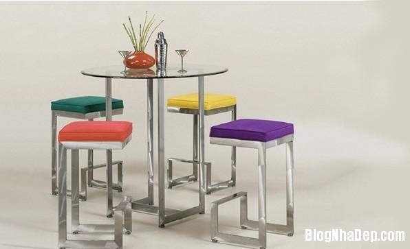 2e79bde101763adf476f46e6f82f19b7 Những chiếc bàn nhỏ xinh cho gian bếp chật