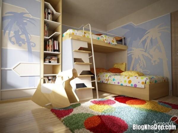 7e90e61650c09add774bd1460cfb0233 Những mẫu phòng riêng xinh tươi cho bé