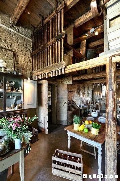 e43b74aca7723f1cbc9d24bfe34787de Phòng bếp ấm cúng và thân mật được xây từ nhà kho