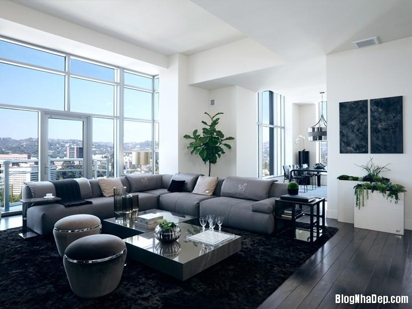 20150413081904909 Căn nhà hiện đại và tinh tế với hai gam màu đen và trắng