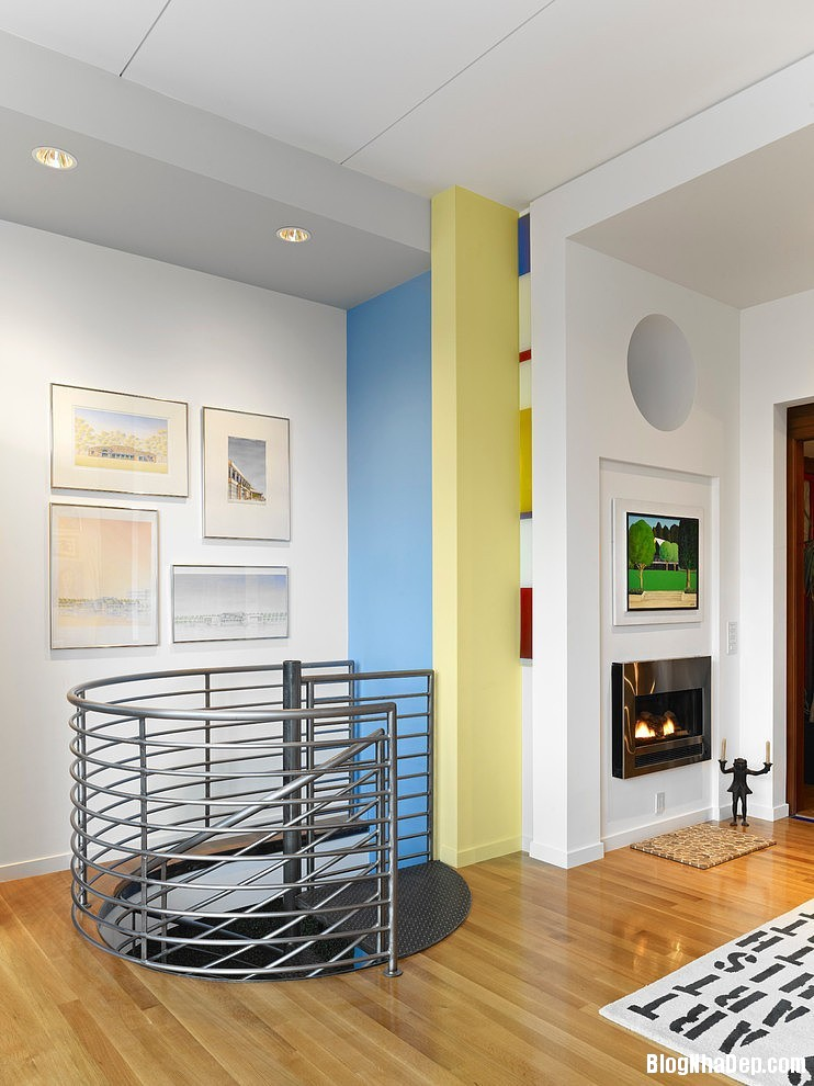 20150414084353843 Ngôi nhà tươi trẻ với nội thất sắc màu