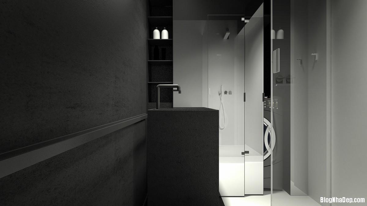 2015041708420355 Ngôi nhà bình yên với sắc màu tối giản