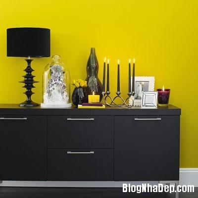 diningroom 10 1369827245 Ngôi nhà mùa hè rực rỡ với sắc vàng