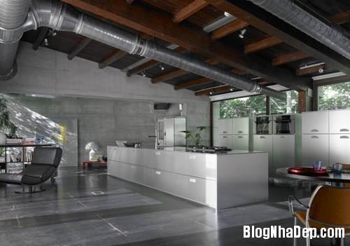 bep hien dai 11 Những mẫu bếp tiện dụng đa phong cách