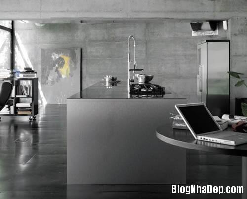 bep hien dai 12 Những mẫu bếp tiện dụng đa phong cách