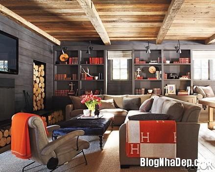 phong khach cam hung 1 Trang trí phòng khách thoải mái & hiện đại