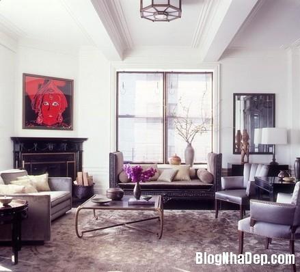 phong khach cam hung 11 Trang trí phòng khách thoải mái & hiện đại