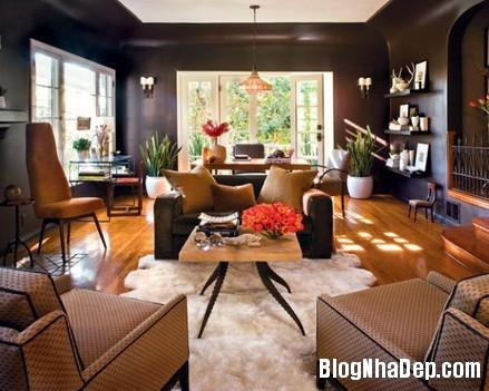 phong khach cam hung 13 Trang trí phòng khách thoải mái & hiện đại