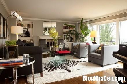 phong khach cam hung 14 Trang trí phòng khách thoải mái & hiện đại