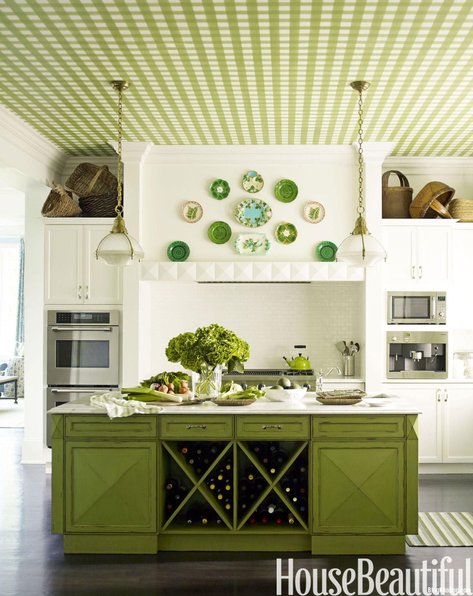 12 gam mau hoan hao cho phong bep 9e819b5b33 Những gam màu cực hot cho phòng bếp