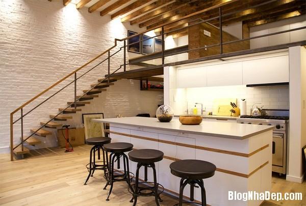2Tuong20bep201509261509017086 Bếp đẹp sang trọng với bức tường màu trắng