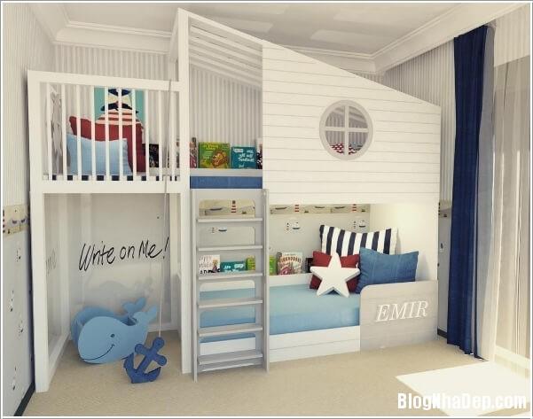10 b7db Những cách trang trí ấn tượng cho phòng trẻ em