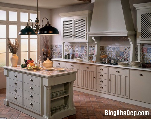 20160406160815 gach bong 13 Nhà bếp sáng bừng với gạch bông có họa tiết rực rỡ