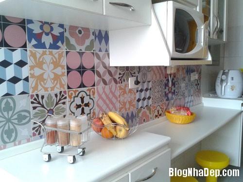 20160406160815 gach bong 14 Nhà bếp sáng bừng với gạch bông có họa tiết rực rỡ