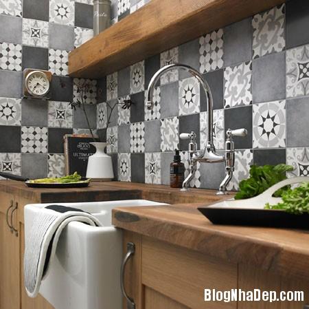 20160406160815 gach bong 17 Nhà bếp sáng bừng với gạch bông có họa tiết rực rỡ